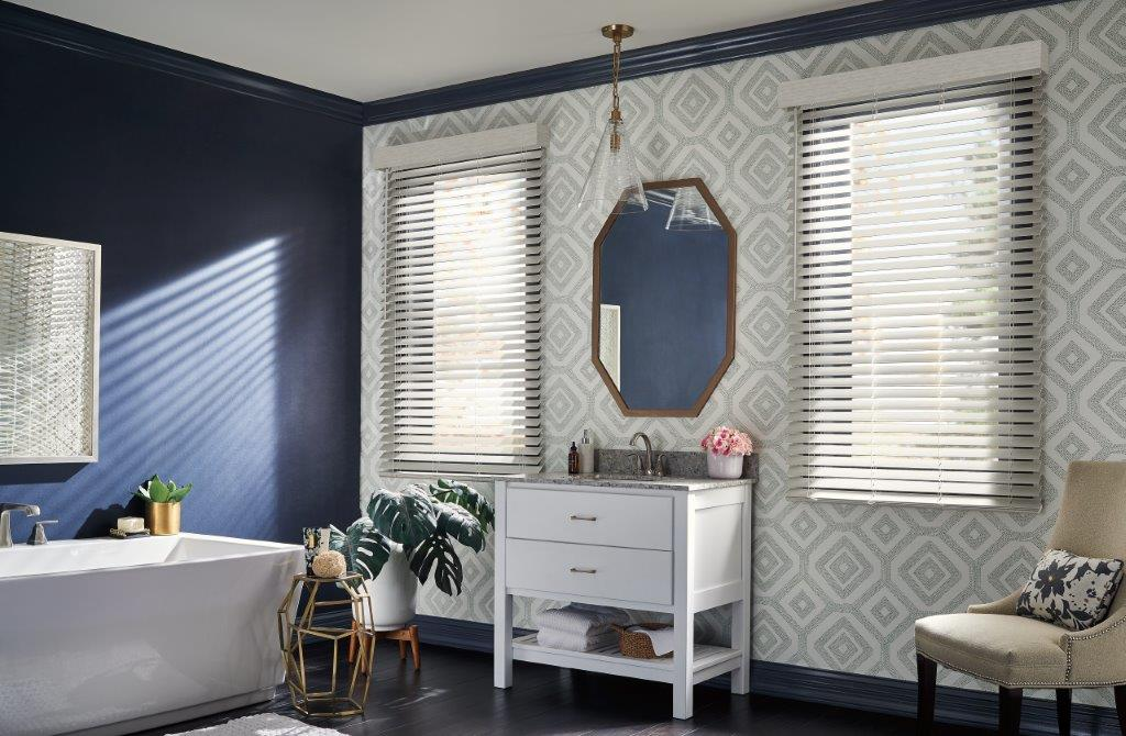 Graber Bathroom Blinds